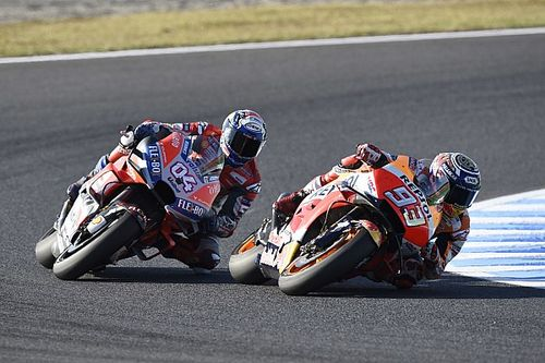"Dovizioso: Marquez did ""something special"" in Motegi race"