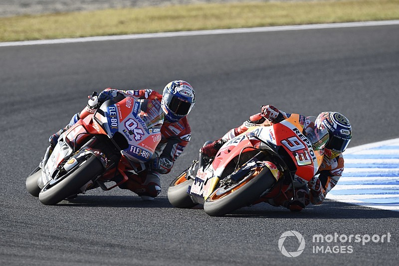 "Dovizioso: Marquez did ""something special"" in Motegi race"