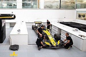 Fotostrecke: Werksbesuch bei Renault in Enstone