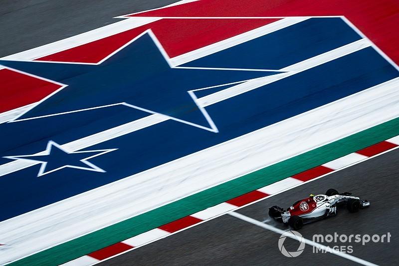 Diaporama: l'Alfa Romeo Sauber dans le Grand Prix des États-Unis