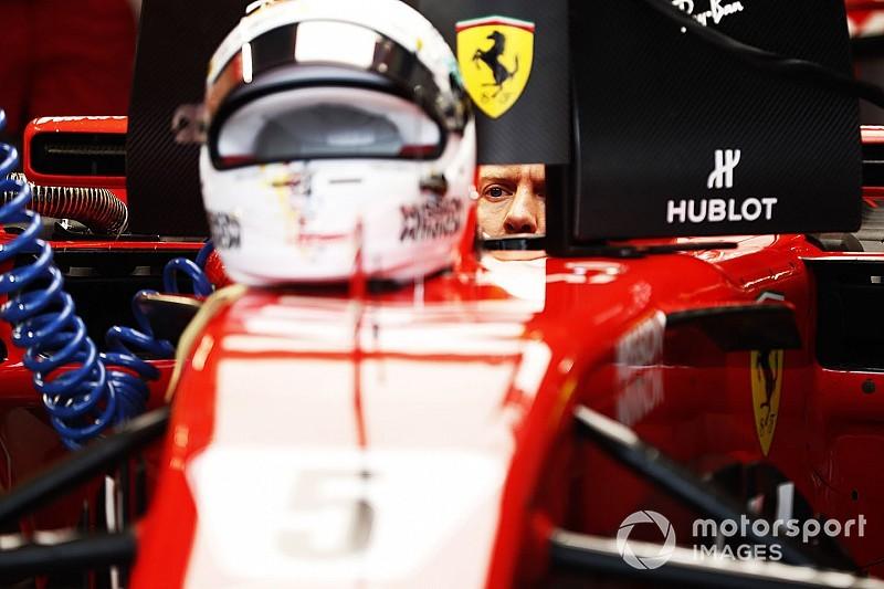 Vettel respalda la fallida decisión de Ferrari y se mantiene optimista