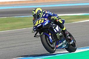 Mesmo perdendo pole, Rossi se anima com bom ritmo