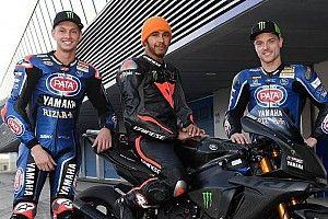 GALERÍA: Lewis Hamilton y la Yamaha R1M