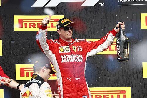 De Bruijn geniet van winnende Raikkonen en 'ongekende klasse' Verstappen
