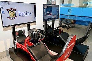 Un simulador de F1 en clase
