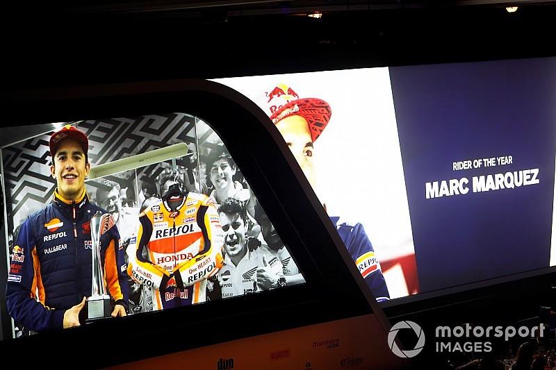 Márquez se lleva el Autosport Award al mejor piloto de motos