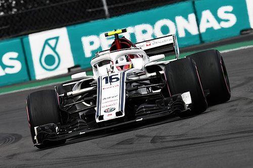 A Sauber ötvenszer figyelmeztette Leclercet, hogy óvja a gumijait Mexikóban