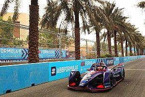 Frijns lidera la mañana de las pruebas de la Fórmula E