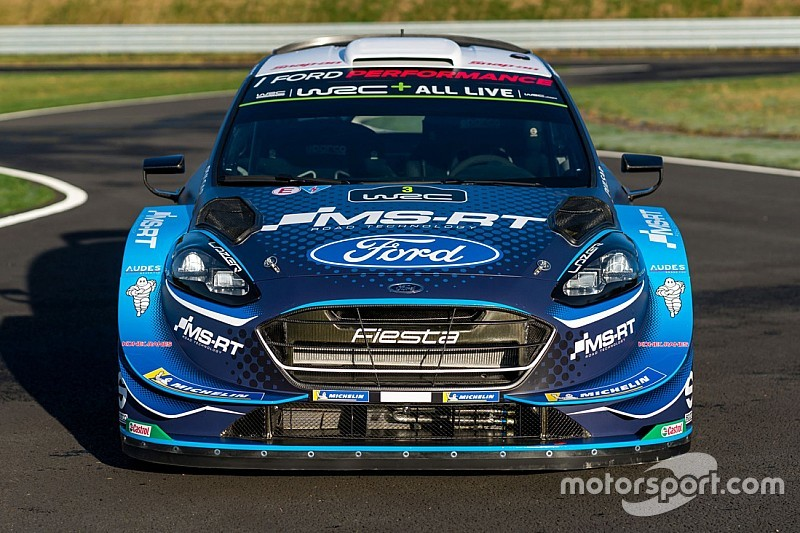 M-Sport reveals revised WRC livery