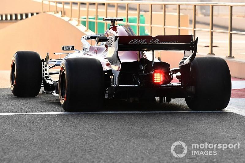 Képgaléria Abu Dhabiból az F1-es tesztről: Räikkönen a Sauberrel!