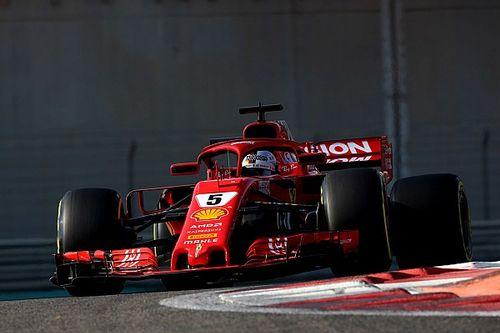 Vettel boucle la première journée en tête à Abu Dhabi