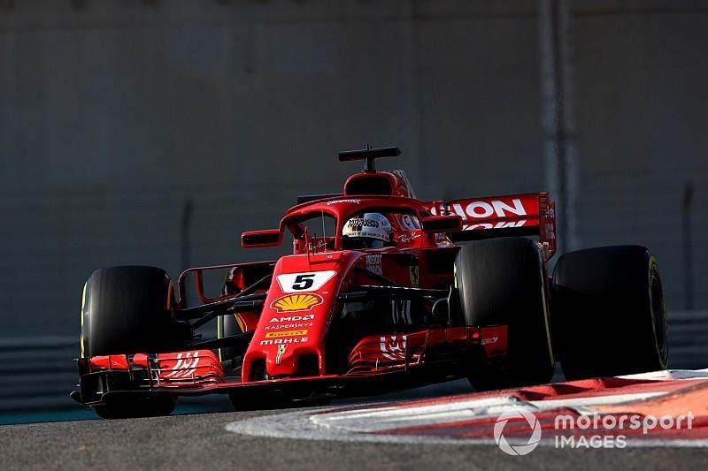 Abu Dhabi, Test Pirelli F1, Giorno 1: Vettel chiude al top. Problemi per Raikkonen