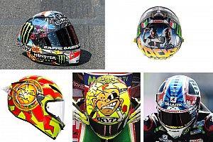 Galería: los cascos especiales de MotoGP en 2018