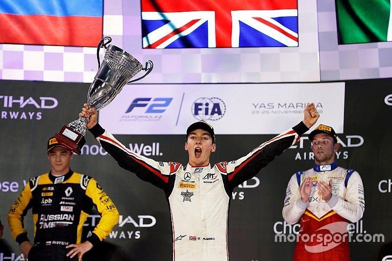 Russell gana el título de la F2 con victoria el sábado en Abu Dhabi