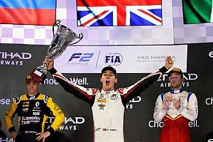 Abu Dhabi F2: Russell secures title with feature race win