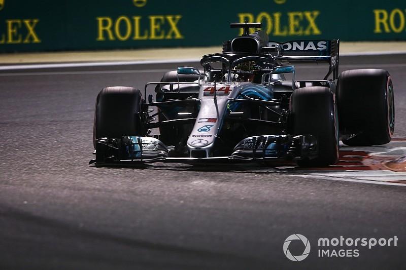 Hamilton vince ad Abu Dhabi il 100esimo GP ibrido con Vettel all'inseguimento