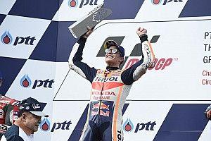 Márquez logra dramático triunfo en Tailandia