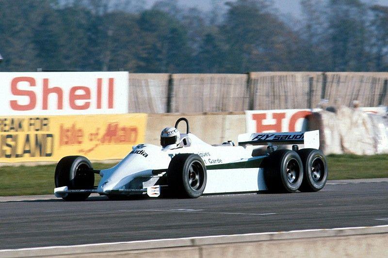 ESPECIAL: O carro de 6 rodas da Williams que nunca correu