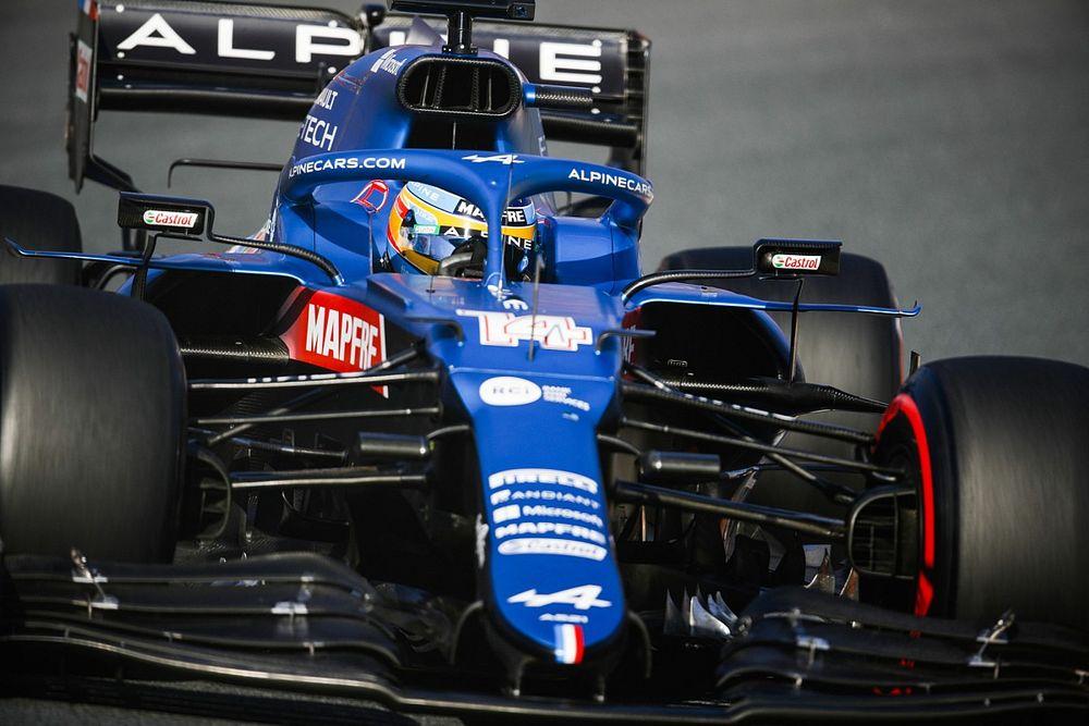 Alonso cree que Alpine irá bien en el circuito de Monza