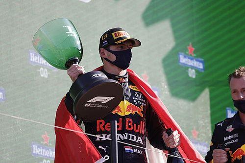 Report Live: Verstappen domina e torna leader