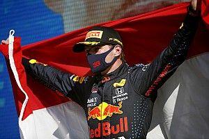 母国オランダGP完勝のマックス・フェルスタッペン「ファンの期待に応えて勝つのは、簡単じゃなかった」