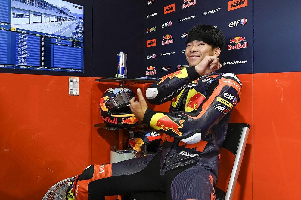 Ayumu Sasaki Dipantau Tim Pabrikan Husqvarna Moto3