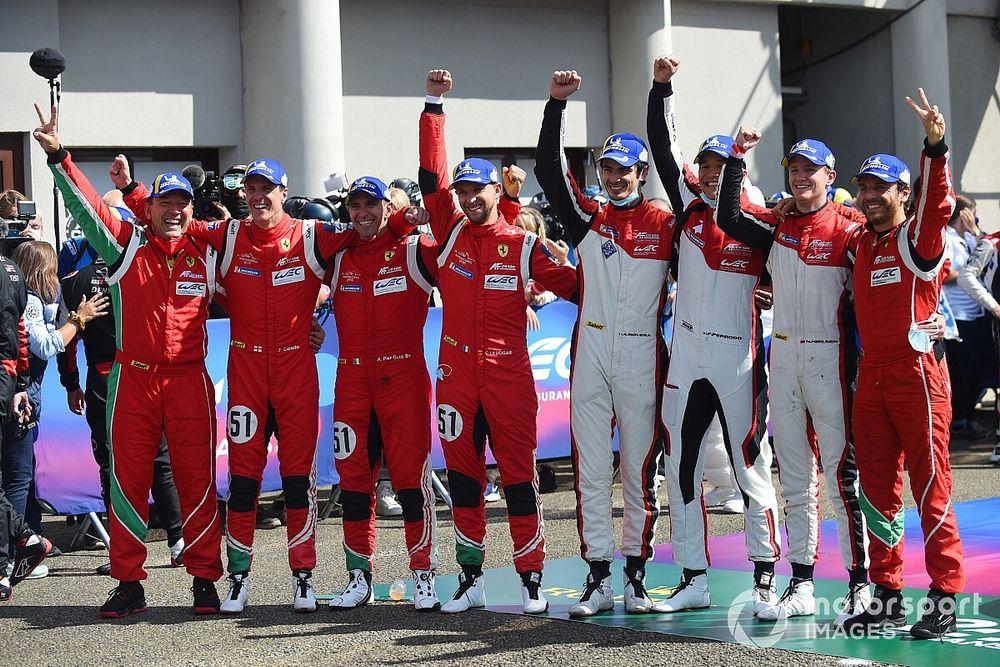 """Doppia gioia Ferrari-AF Corse a Le Mans: """"Emozione e orgoglio"""""""