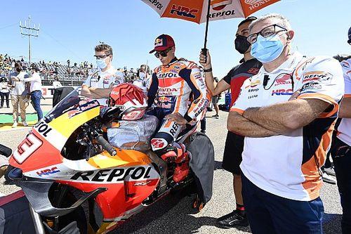 Honda gaat filosofie niet aanpassen na blessure Marquez