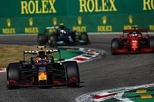 Pérez: Si no cortábamos al adelantar a Leclerc los dos chocábamos