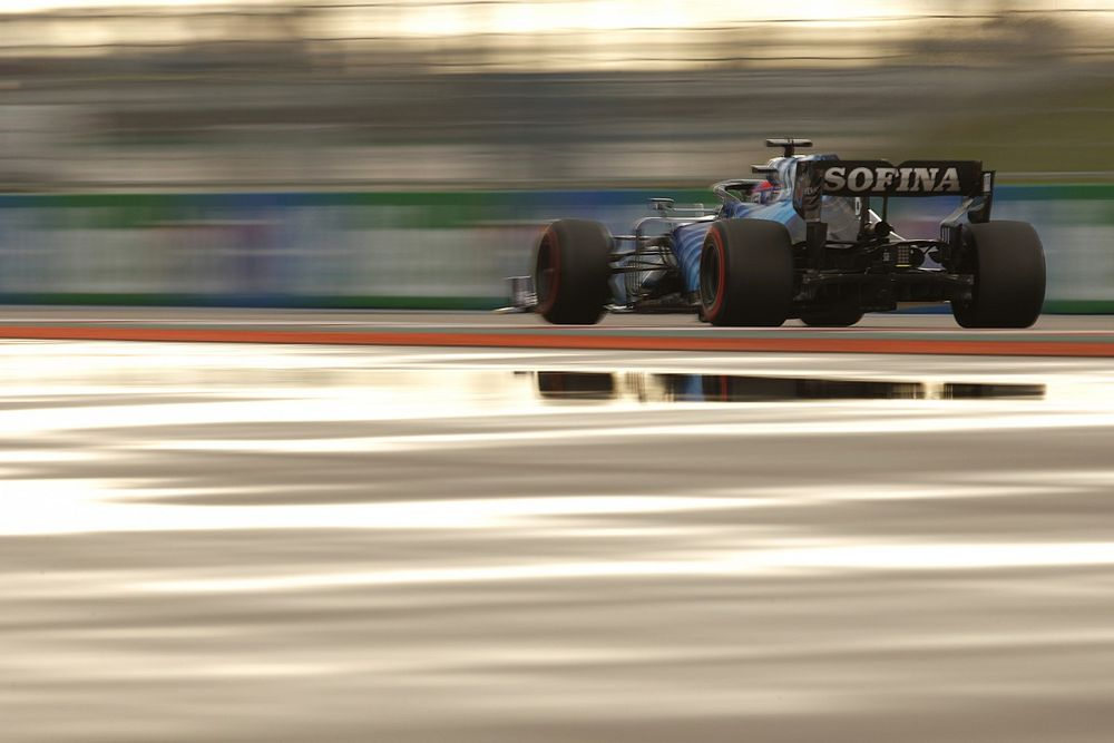 """Williams: Russell's Sochi F1 qualifying result came in team's """"best dry car"""""""