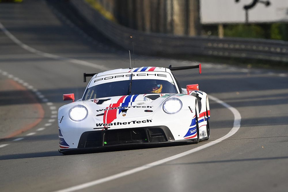 WeatherTech Porsche lacking top speed compared to works cars