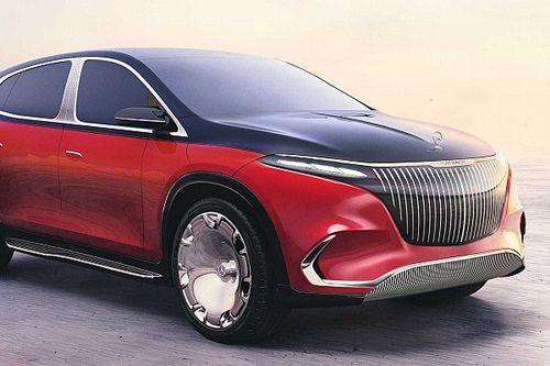 Laza stílusú elektromos SUV-ként mutatta meg magát a világnak a Mercedes-Maybach EQS SUV Concept