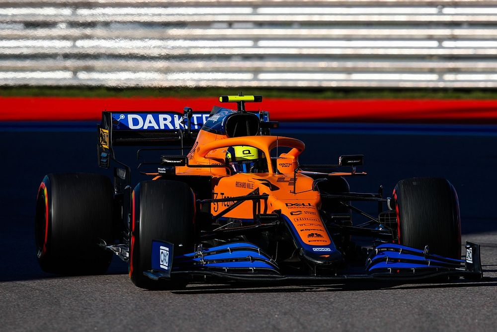 Hasil Kualifikasi F1 GP Rusia: Norris Pole Perdana, Hamilton P4