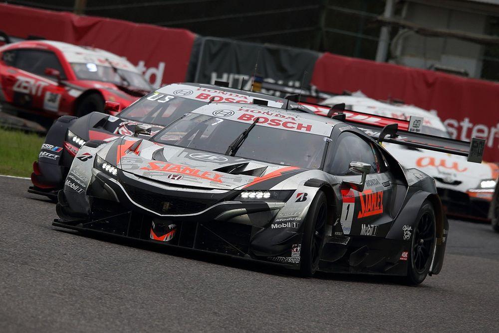 【スーパーGT】予選の不調を挽回し、ランキング首位に躍り出た1号車STANLEY。路面温度向上に合わせたタイヤ選択が奏功