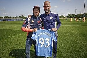 What a MotoGP legend learned from Manchester City boss Guardiola