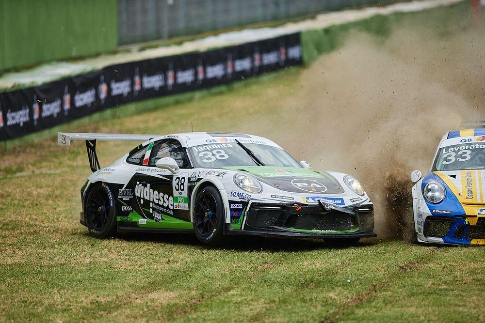 Carrera Cup Italia, Iaquinta torna in pista e contesta la penalty