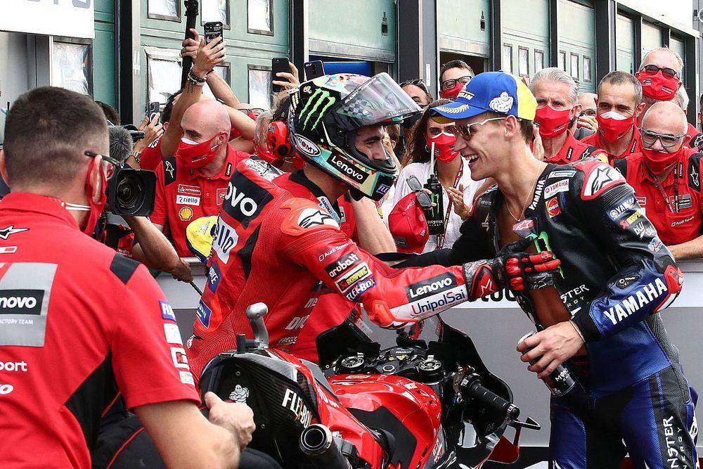 Mondiale MotoGP 2021: Quartararo mantiene 48 punti su Bagnaia