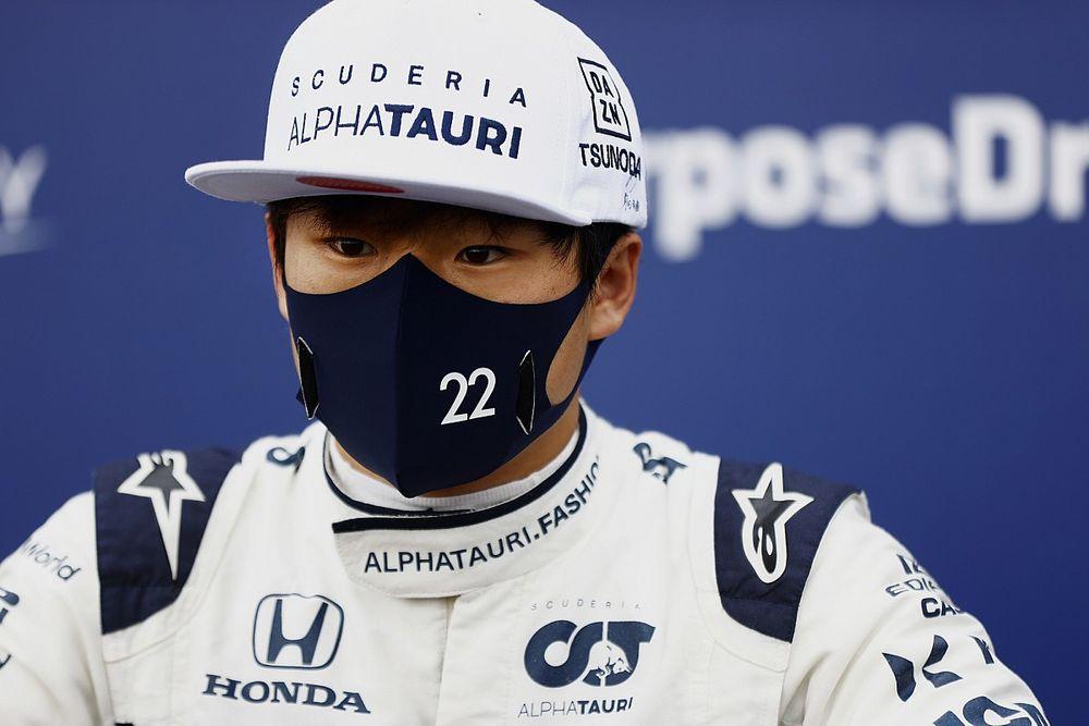 角田裕毅、雨のスパ予選ではQ1敗退「僕には速さが足りなかった」