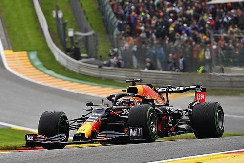 比利时大奖赛FP3:维斯塔潘雨地最快,领先汉密尔顿一秒