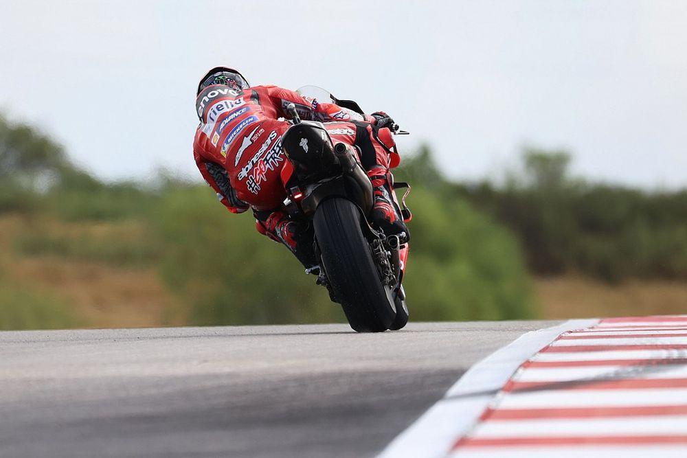 Bagnaia: COTA MotoGP track situation worse than Silverstone 2018
