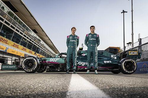 F1: Aston Martin confirma permanência de Vettel e Stroll em 2022