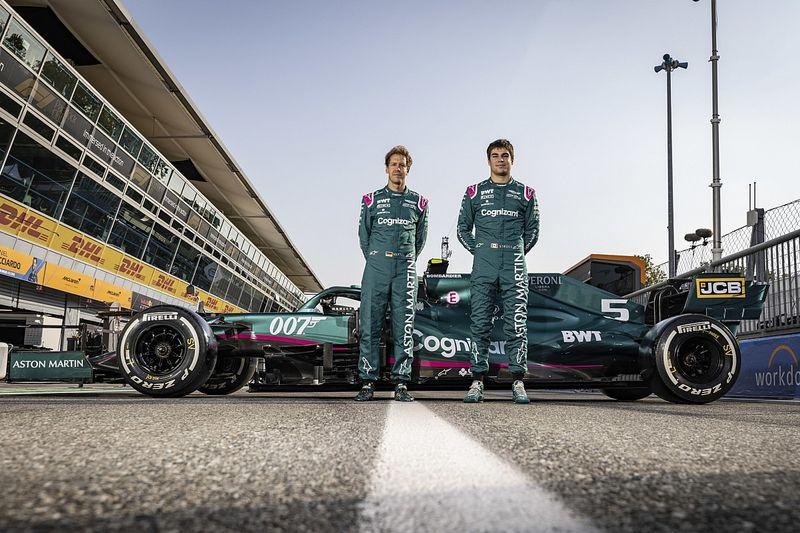 Resmi: Aston Martin Perpanjang Kontrak Vettel-Stroll