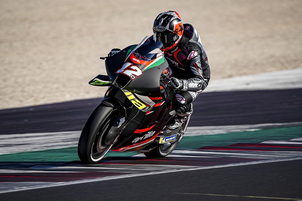 MotoGP: Vinales felt giant pressure ahead of Aprilia