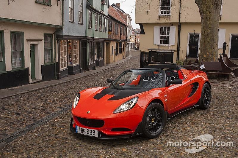 Lotus Elise Cup 250: nog lichter, nog sneller