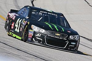 Kurt Busch inherits Atlanta pole as brother Kyle has time disallowed