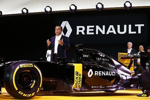 Renault: Vertrek Ghosn geen directe bedreiging voor F1-team