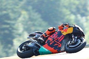 Pol Espargaró lidera el warm up en Brno