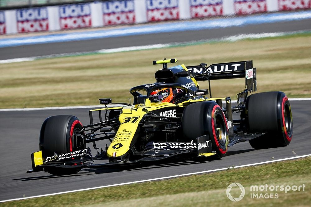 Ocon hit with Silverstone grid penalty after Russell block