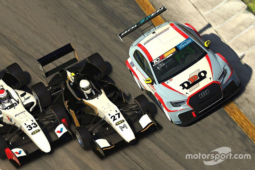 F3, TCR double for next ARG eSport Cup round