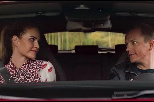 Raikkonen ve eşi, Alfa Romeo'nun reklam filminde rol aldı